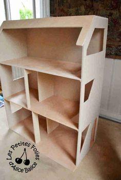 Maison de Barbie - # 1 : la conception et la construction