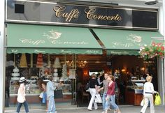 Caffe Concerto (London) *Multiple locations, High Street Kensington is a fave.