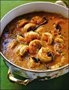 Indian -Goan-Style Shrimp Curry-tried & tested with a few substitutions needed