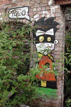 Holy Return From Oblivion. Robin of Sheffield, England. Photo: KylaBorg