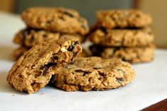 Well Vegan  |  Peanut Butter Oatmeal Cookies...these are delicious! The cinnamon really enhances the flavor.