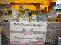 Our pretty market stall