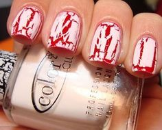 25 Simple, Easy & Scary Halloween Nail Art Designs, Ideas & Pictures 2012   Girlshue
