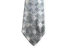 Mens vintage 60s skinny necktie in fantastic condition and ready to wear ~ measures 2 1/2 wide and53 long ~ Only label says Styled In Italy, Imported Fabric - feels silky ~ Design is woven (not printed) ~ I do ship internationally