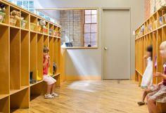 daycare cubbies preschool set up