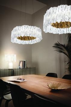 Accordéon Suspension by Marc Sadler Chandelier, Ceiling Lights, Contemporary, Grande, Italy, Design, Pendant, Home Decor, Ceiling Lamps