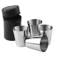 Limited offer for 4 Pcs 30ml 1 Ounce Stainless Steel Shot Glasses     FREE SHIPPING    More information: https://www.topgadgets.com.au/2015-hot-sale-4-pcs-30ml-1-ounce-stainless-steel-cups-cover-mug-drinking-coffee-beer-camping-outdoor-travel-tumble/