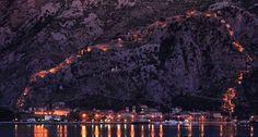 Bing fotos: The town of Kotor on the Adriatic Coast of Montenegro – Bertrand Gardel/Corbis ©