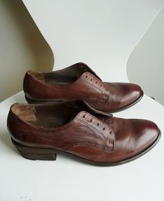 Women's FRYE Carson Oxford Lace Up Leather Ankle by Sugarguts,