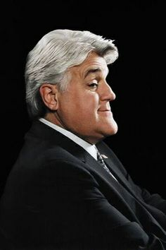 Jay Leno. Protruding Chin. Wears his hair with volume on top to help ...
