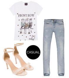 Calça Jeans, T-Shirt