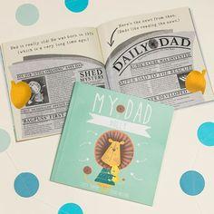 Personalised My Dad Book | GettingPersonal.co.uk