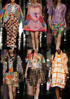 Graduate Fashion Week 2013   Print & Pattern Highlights catwalks