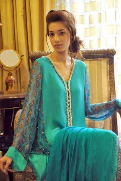 Shirin Hassan Summer Dresses 2013 For Girls 002
