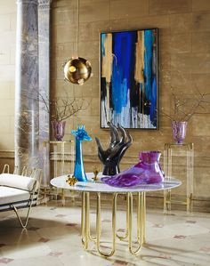 Jonathan Adler, Spring 2015. Best Interior Design, Top Interior Designer, Interior Design, Luxury Furniture, Home Decor Ideas, Home Interior Decor, Living Room Decor, Design Furniture. For More News: http://www.bocadolobo.com/en/news-and-events/