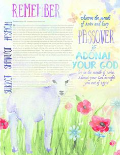 Happy passover greetings cards messages passover ecards wishes bible journaling passover deu 16 why christians should observe passover m4hsunfo