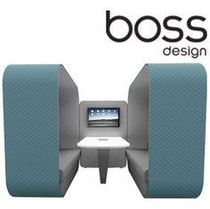 Boss Design Cocoon Acoustic Pod £3275 - Office Chairs