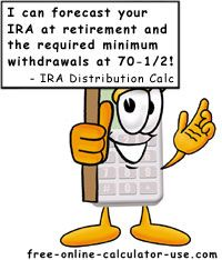 IRA Distribution Calculator