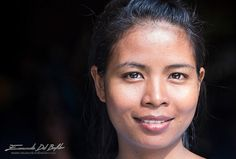 Angkor Wat -Siem Reap Province - Cambodia - Human Portrait -  What do you think is the world's most recognisable container of information? It's the human face. We are constantly reading each other and responding.  by Emanuele Del Bufalo