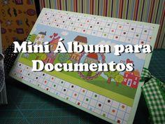 Mini álbum para Documentos