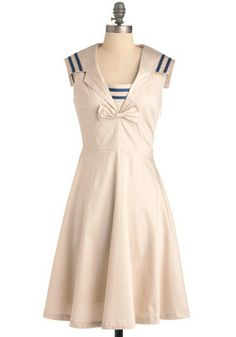 Paper Moon Dress...perfect sailor dress, but super expensive =/