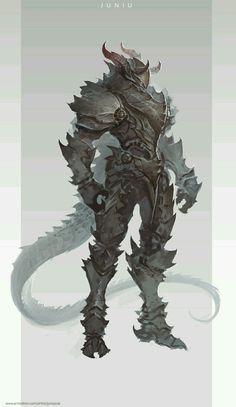 Demon Dragon Armor