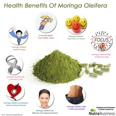 Health Benefits Of Moringa Oleifera | Visual.ly