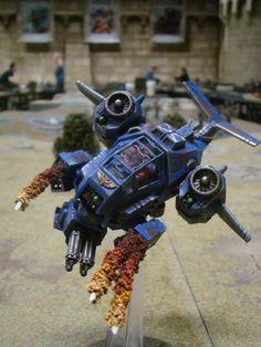 40k - Ultramarines Stormtalon at Warhammer World