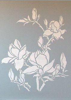 magnolia stencil