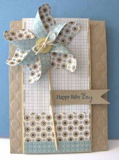 Pinwheel for Baby by she's_crafty - Cards and Paper Crafts at Splitcoaststampers