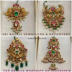 Antique Jewellery Designs, Beaded Jewelry Designs, Jewelry Design Earrings, Gold Earrings Designs, Pendant Jewelry, Necklace Designs, Jewelry Patterns, Jewelry Shop, Jewelry Stores