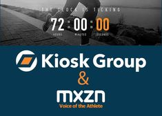 The countdown to achieve increased visibility for athletes, teams, and sponsors has arrived Visit www.mxzn.com to view the latest athlete direct video content to broadcast, digital and social media platforms. When reporters or cameras are not available in the mixed zone,MXZN offers events, leagues, and teams an intuitive way to capture high-quality content on location. No matter the venue or the need, Kiosk Group will provide a custom solution to achieve the ultimate goal. www.kioskgroup.com Digital Retail, Kiosk, Service Design, Social Media, Group, Athletes, Platforms, Cameras, Events