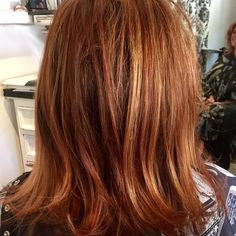 Love making our clients smile when they leave! Color cut and blowdry by Marcus. Red color will golden highlights. #salondemarcus #salondemarcussandiego #salondemarcusstylistarethebest #downtownsandiego #sandiego #haircut #hairstyles #haircolor #hairstylist