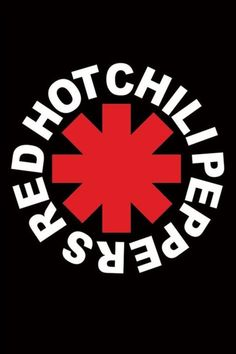 Red Hot Chili Peppers - Logo - Official Poster. Official Merchandise. Size: 61cm x 91.5cm. FREE SHIPPING