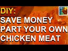 #DIY: Part Your Own Chicken Meat (How to Cut Up a Chicken) #Butcher #SaveMoney
