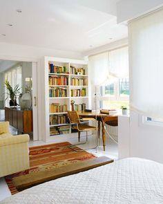 Decoración+en+blanco+y+madera,+una+casa+en+el+norte