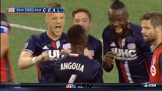 Angoua powers in first ever MLS goal