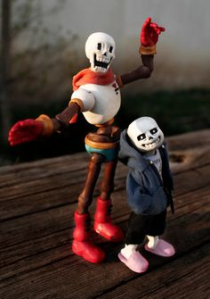 Handmade Skelebro Dolls! by Zhamka on DeviantArt
