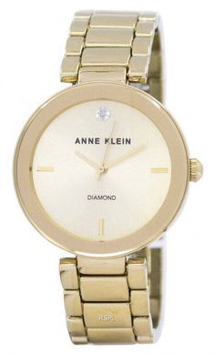 Quartz Women's Watch Anne Klein Watch, Jewelry Clasps, Jewellery, Authentic Watches, Crystal Champagne, Michael Kors Watch, Gold Watch, Quartz, Mineral