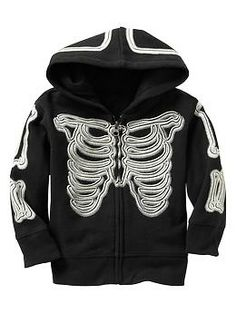 Glow-in-the-dark skeleton hoodie | Gap