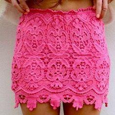 Hip Package Lace Mini Skirt – Lupsona