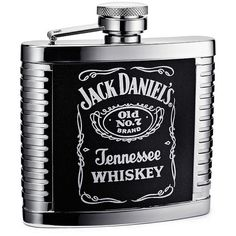 Jack Daniel's® 4 oz. Flask ($30) ❤ liked on Polyvore featuring home, kitchen & dining and bar tools