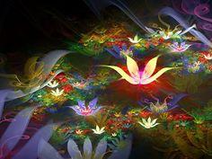 Fantastiska blommor - gratis skrivbordsbilder: http://wallpapic.se/tecknade-serier-och-fantasy/fantastiska-blommor/wallpaper-10530