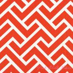 Michelle Engel Bencsko GeoCentric ZigZag Coral - ORGANIC CANVAS [C9F-ZigZag-Coral] - $11.16 : Pink Chalk Fabrics is your online source for modern quilting cottons and sewing patterns., Cloth, Pattern + Tool for Modern Sewists