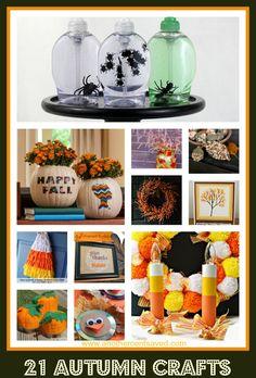 21 Autumn Crafts