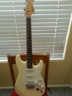 Fender Squier Stratocaster Electric Guitar and gig bag