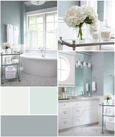 Subtle Blue And Green No Fail Coastal Paint Colors!
