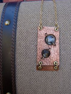 Galaxy Traveler Necklace by AdornmentByNicole on Etsy, $50.00