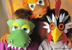 Мобильный LiveInternet Карнавальные маски. Мастерим с детьми.   доченька_Я - Дневник доченька_Я  
