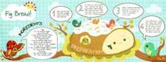 Illustrated Recipes by Itzá Maturana, via Behance